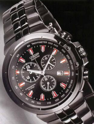 Crono Black Eco-Drive
