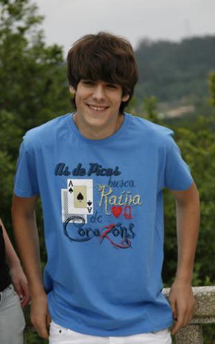 "Camiseta unisex de manga corta ""As de Picas"""